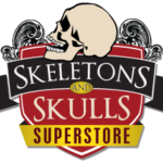 Skeletons And Skulls Superstore Logo