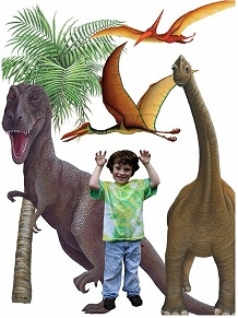 Dinosaur Collection Wall Mural