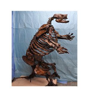 harlans ground sloth skeleton